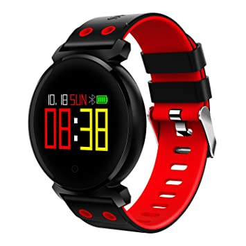 Relojes Fitness, HR Activity Tracker Con Pulsómetros Inalámbrico Bluetooth Pulsera Inteligente Pulsera, Para Android