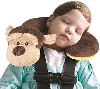 Animal Planet Travel Pillow for Kids (Monkey)