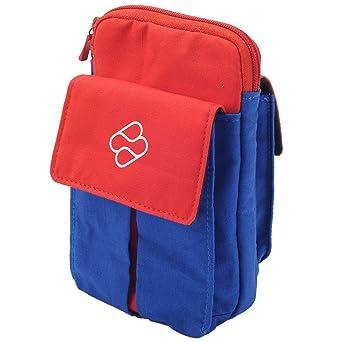 FR·TEC - Bolsa De Transporte, Color Azul Y Rojo - Nintendo ...