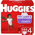 Huggies Little Movers Diapers (sizes 3 to 6) from $16.60