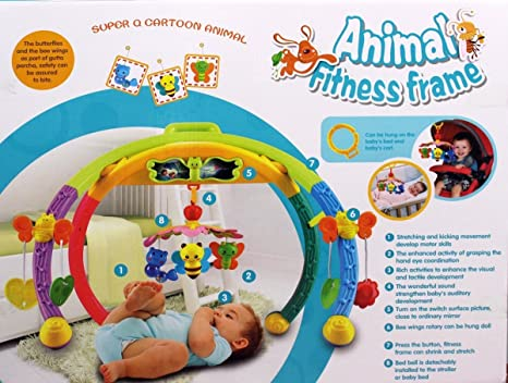 Buy Baby Animal Fitness Frame Learning Ability Senses Activity ...