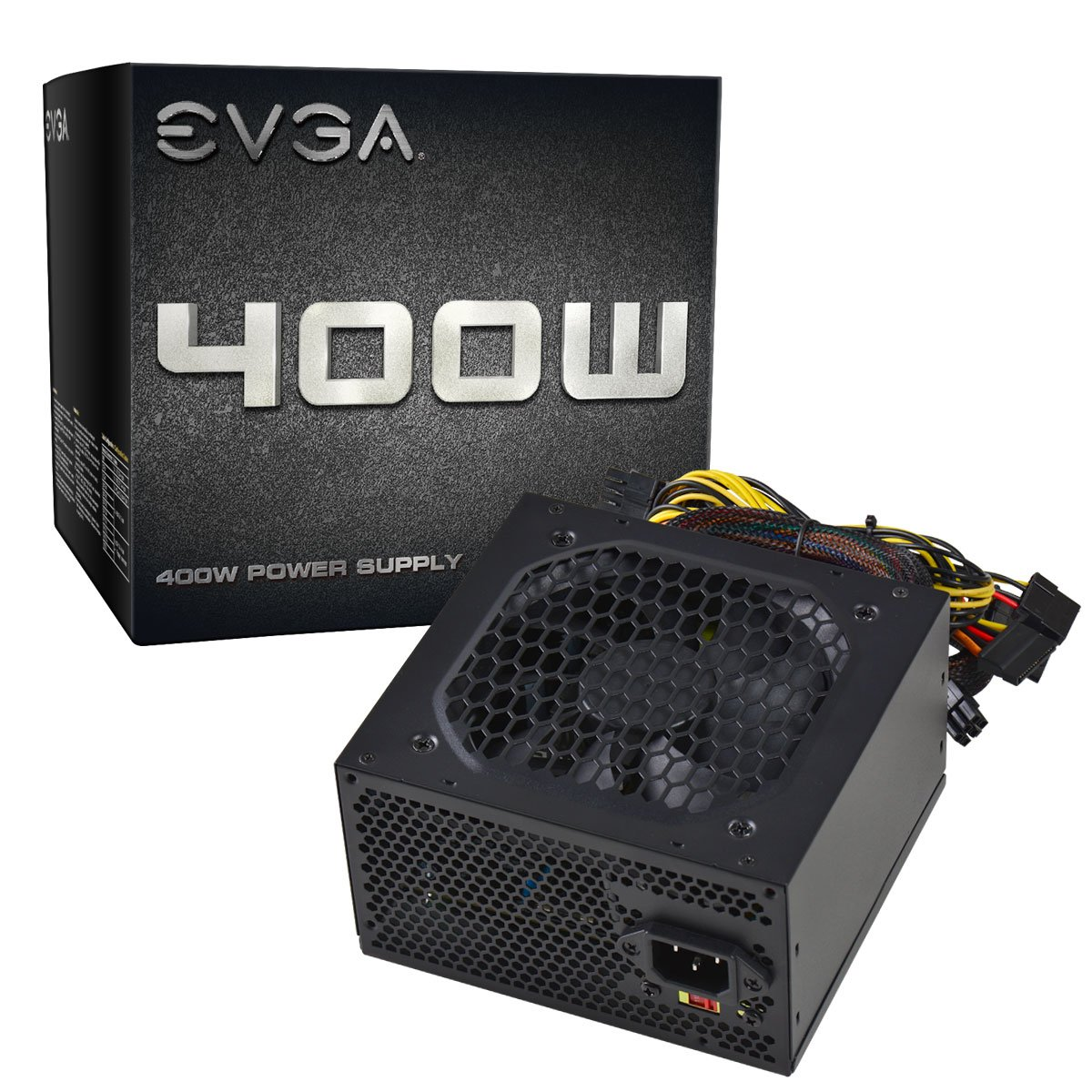 EVGA 400 N1, 400W, 2 Year Warranty, Power Supply 100-N1-0400-L1 by EVGA