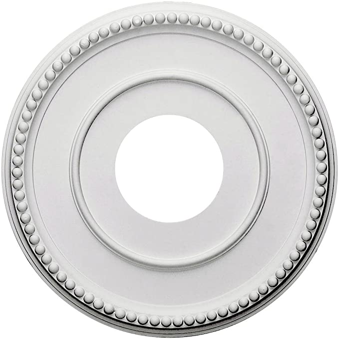 31 18OD x 1 12P Carlsbad Ceiling Medallion Fits Canopies up to 5 12