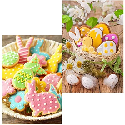 Radish Egg Stainless Steel Easter Rabbit Biscuit Mould Easter Cookies Cutter