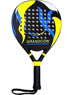 GRANDCOW Tennis Padel Paddle Pro Carbon Fiber Power Lite Pop EVA Foam Beach  Paddle Tennis Paddleball e8b3995372953