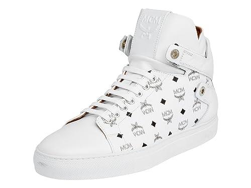 MCM , Herren Sneaker, weiß weiß Größe: EU 45: