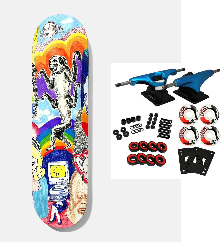 "Baker Skateboard Complete Andrew Reynolds Thoughts 8.0"" x 31.5"""