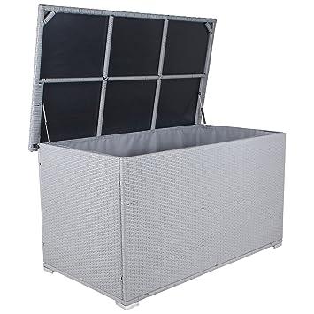 Frisch Miweba Grande XXL Auflagenbox Kissenbox 950L Gartentruhe Box  WN42