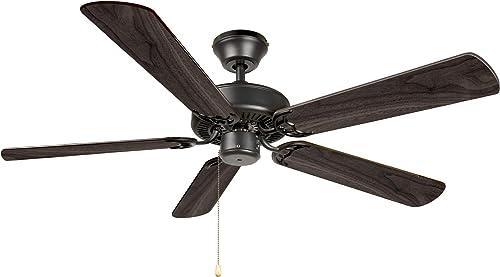 Hyperikon 52 Inch Ceiling Fan No Light