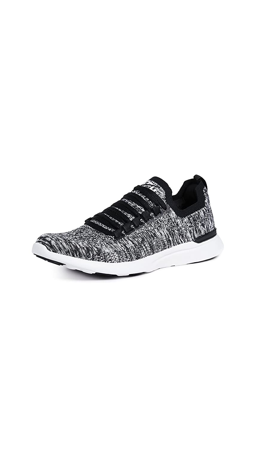 APL: Athletic Propulsion Labs Women's Techloom Breeze Sneakers B07BH3LLF5 7 B(M) US|Black/White/Melange