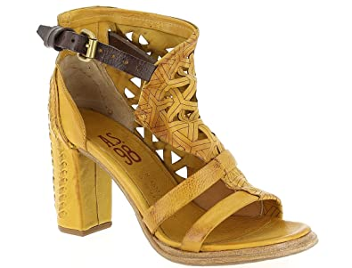 AIR STEP AS98, Damen Sandalen , gelb gelb Größe: 40 EU
