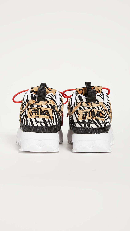 fila disruptor leopard print