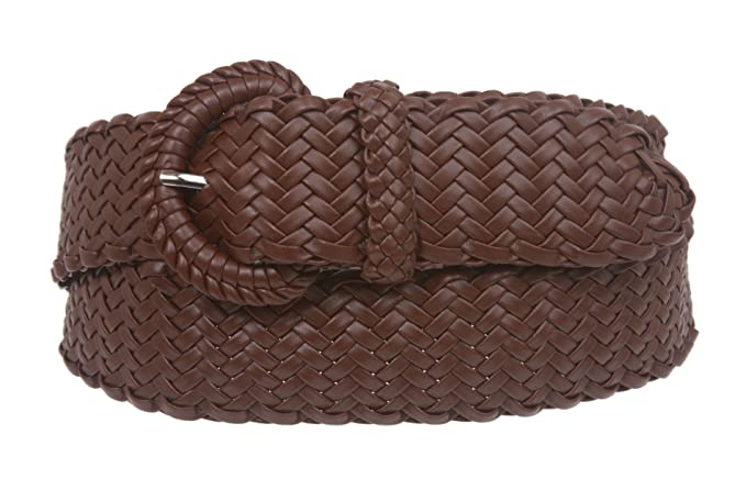 07992f8ac690c Ladies Braided Woven Belt at Amazon Women s Clothing store  Apparel ...