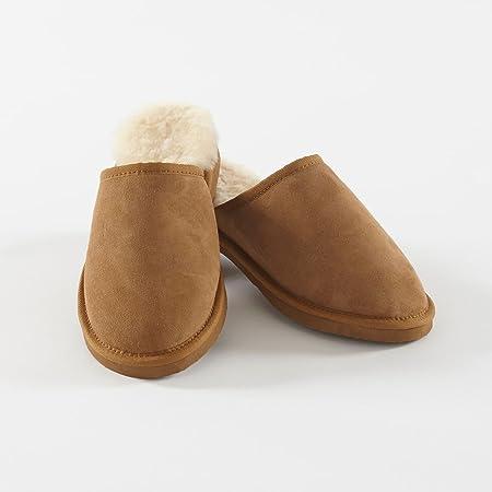 Men's Sheepskin Slippers | Soak\u0026Sleep