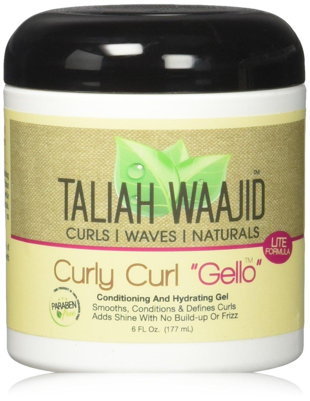 Taliah Waajid Curly Curl Gelo, 6 Ounce