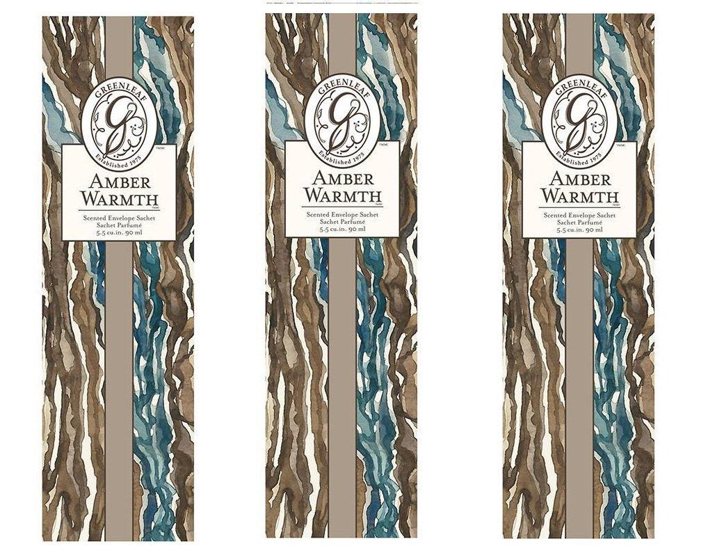 Greenleaf Amber Warmth Slim Scented Sachet GL902531