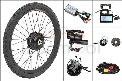 Envío gratuito barato eléctrico bicicleta 48 V 500 W Bafang roscado rueda trasera para bicicleta 8