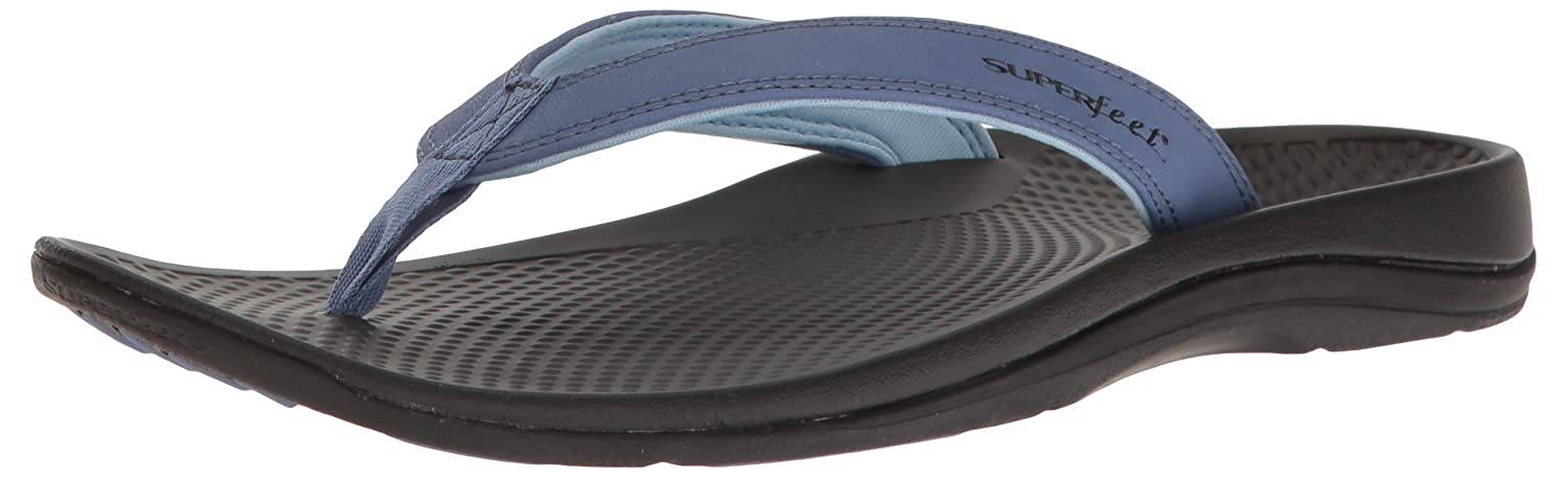 Marlin  blueebell superfeet Womens Outside 2 Sandal Flip Flops