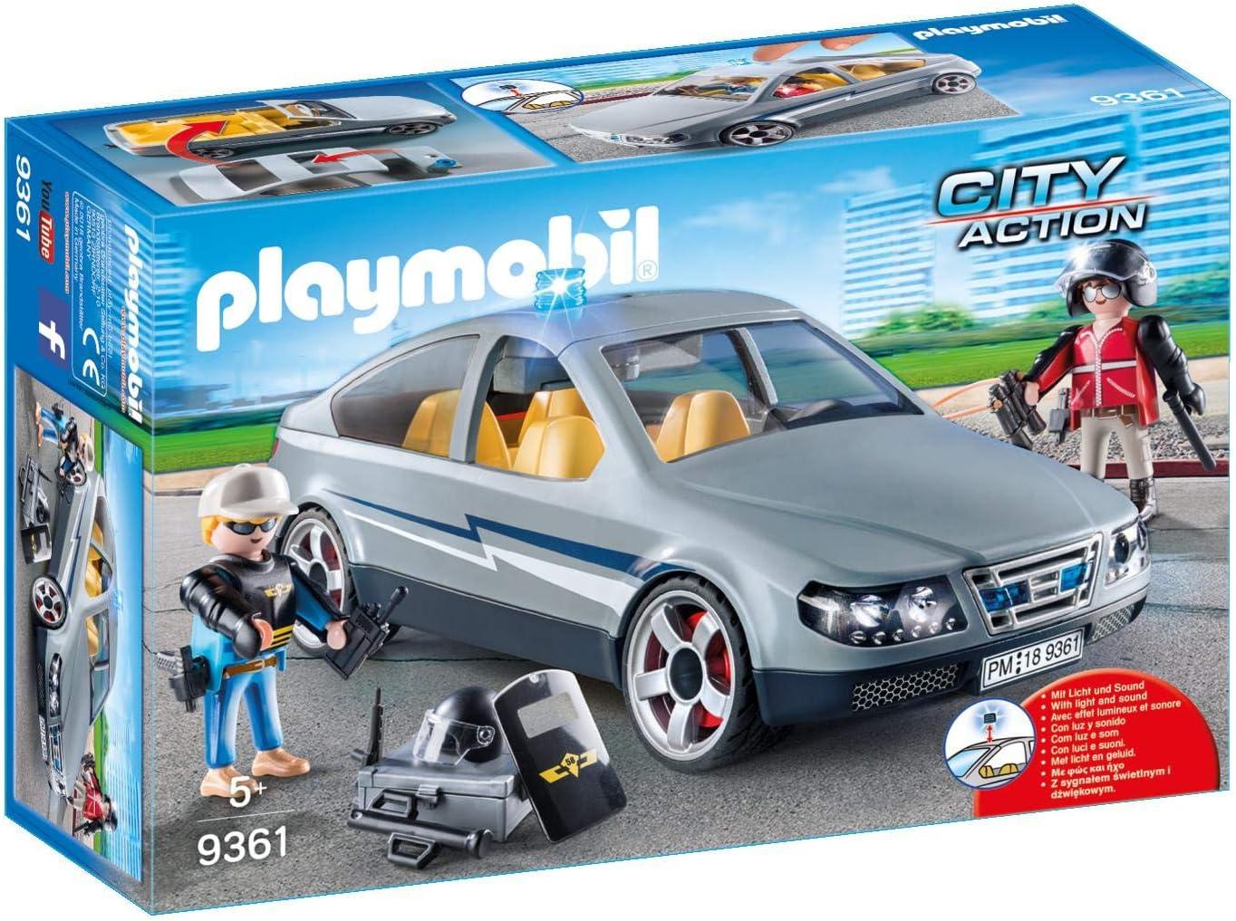 PLAYMOBIL City Action Coche Civil de las Fuerzas Especiales, a Partir de 5 Años (9361)