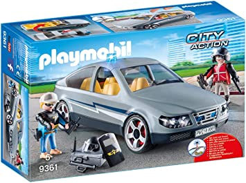 Oferta amazon: PLAYMOBIL City Action Coche Civil de las Fuerzas Especiales, a Partir de 5 Años (9361)