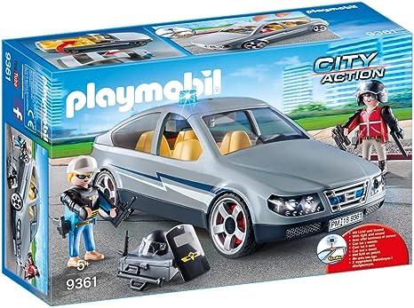 PLAYMOBIL City Action Coche Civil de las Fuerzas Especiales, a Partir de 5 Años (9361): Amazon.es: Juguetes y juegos