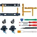 Mcbazel 18 in 1 Replacement Repair Kit for NS Switch Joy-Con with Screwdrivers Opening Tool, 3D Left Right Analog…