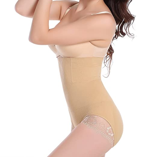 27eb333ec5a35 High Waist Tummy Control Body Shaper Butt Lifter Waist Trainer ...