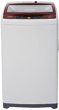 Haier 6.0 kg Fully-Automatic Top Loading Washing Machine (HWM60-708NZP, Dark Grey)