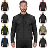 Viking Cycle Ironborn Protective Textile Motorcycle Biker Jacket for Men