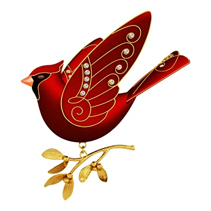 hallmark keepsake ruby red cardinal christmas ornament