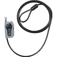 Abus 205 Cable Acero antirrobo Moto, Unisex Adulto, Negro, 200 cm