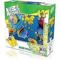 KS Puzzle 100 Parça Underwater 10113