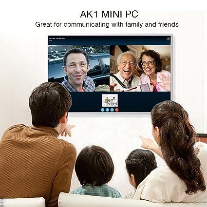 Amazon com: MINI PC,ACEPC AK1 Slice Mini Desktop Computer