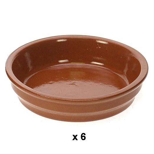 Revimport 02/2462X6 - Cazuela de barro esmaltada para crema ...