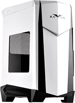 Black /& Blue SilverStone Technology Raven X ATX Tower Case RVX01BA-W
