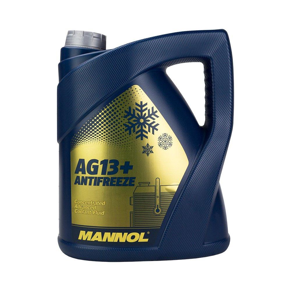 MANNOL Antifreeze AG13+ Advanced Kü hlerfrostschutz Kü hlmittel 5L MN4114-5