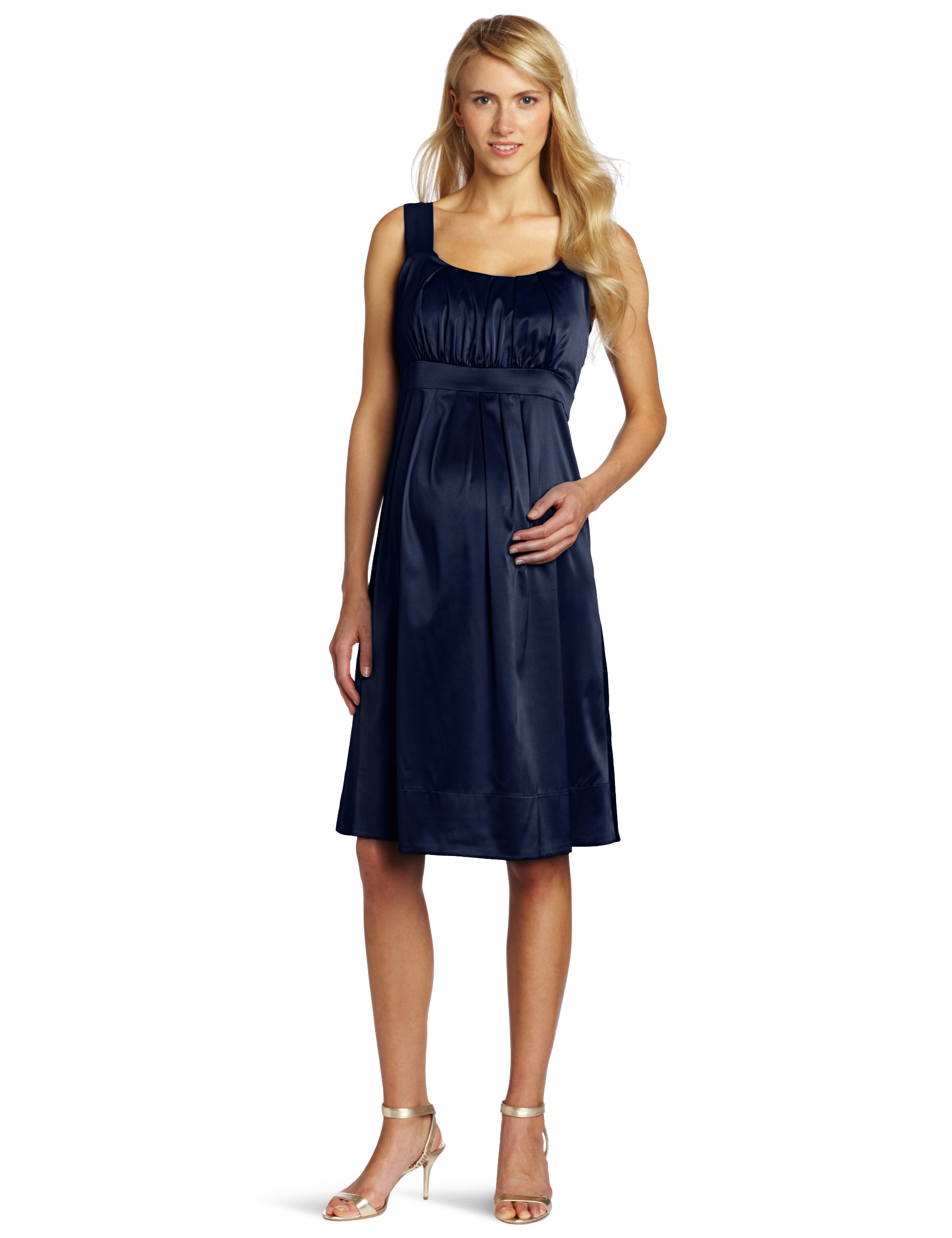 Ripe Maternity Women's Maternity Alexis Dress, Ink, Large by Ripe