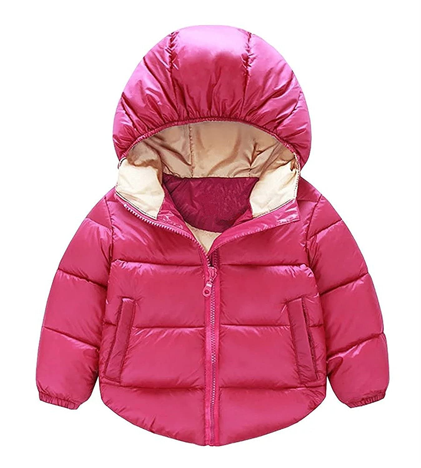 Baby Boys Girls Winter Puffer Cotton-padded Coat Thicken Down Jacket