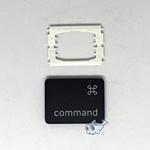 Dolphin.dyl(TM) Replacement Individual Key Cap for US MacBook Pro A1706 A1707 A1708 Key Cap with Hinge Left Command Key