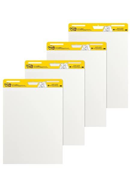 Amazon com post it super sticky easel pad 25 x 30 inches 30