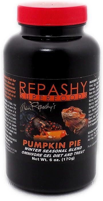 Repashy Pumpkin Pie Omnivore Gel Diet & Treat 6 Oz Jar