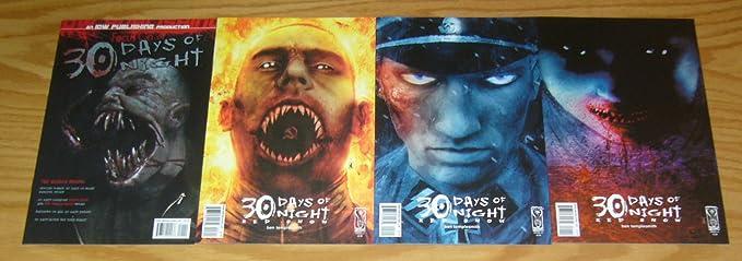 Amazon 30 Days Of Night Red Snow 1 3 Vfnm Complete Series