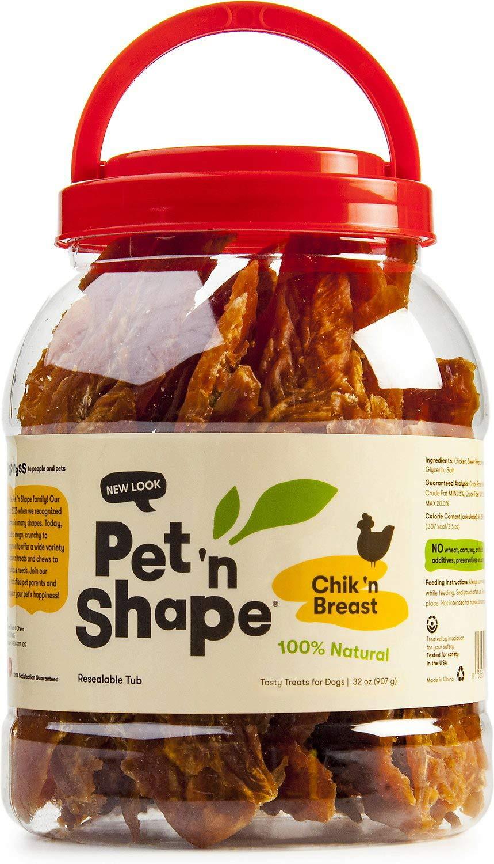 Pet 'n Shape Chik 'n Breast Tub 4lb (2 x 2lb)