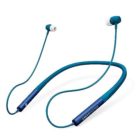 Energy Sistem Neckband 3 - Auriculares Bluetooth con Diseño ergonómico, Color Azul