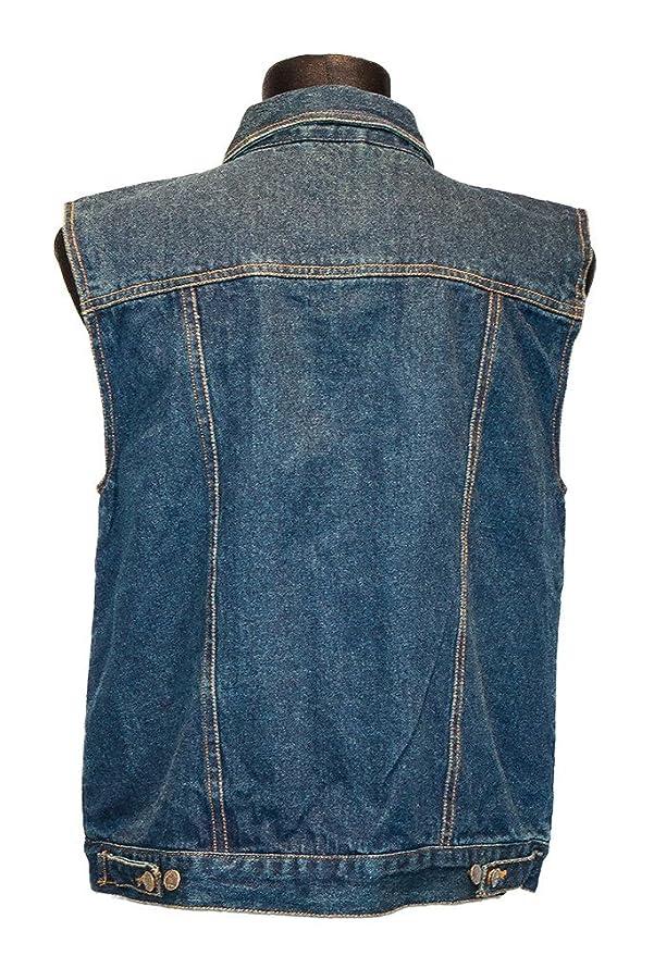 Jeans Weste blau Classic Dark Blue Capricorn Rockwear (Größen S ...