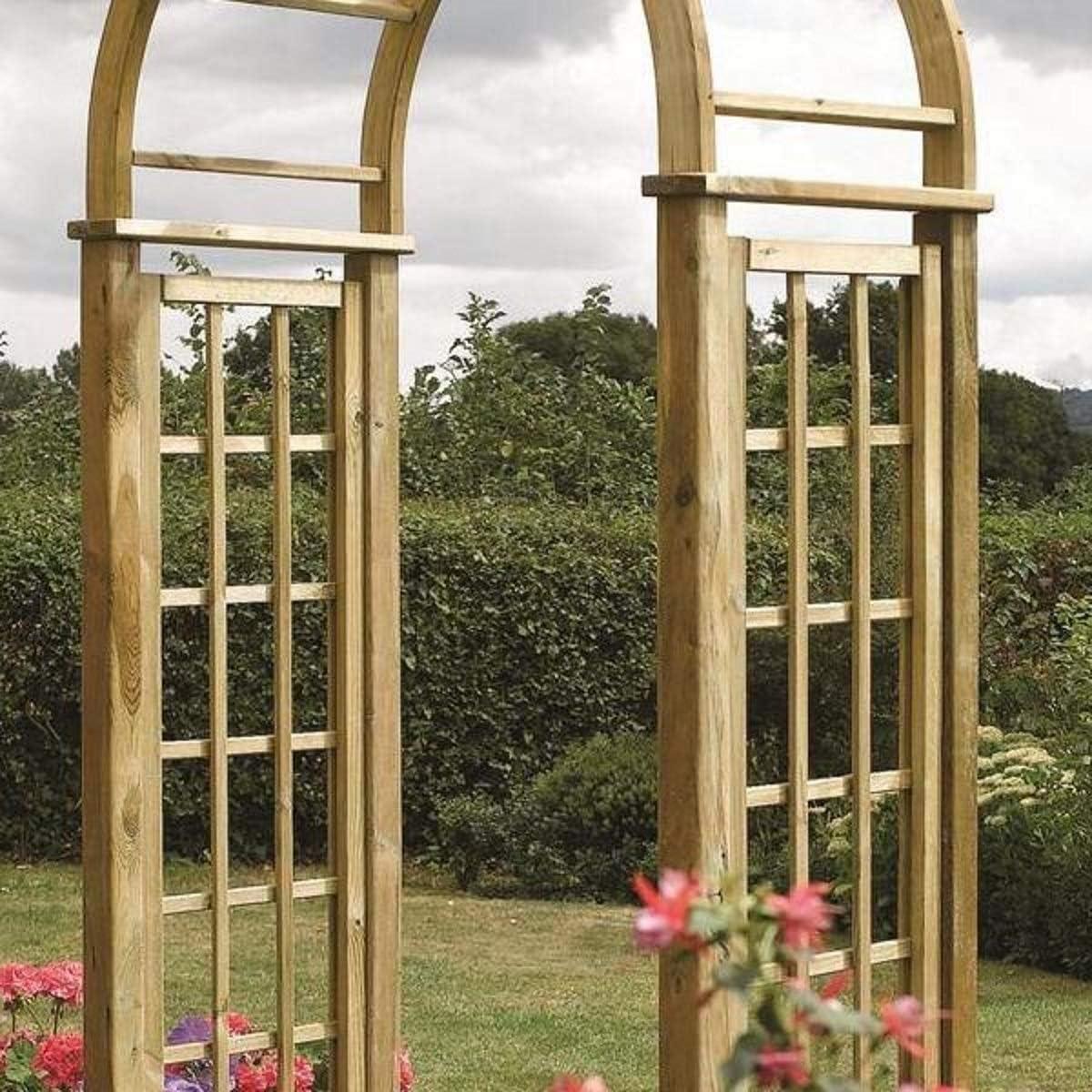 Rowlinson Arco para jardín con diseño Redondeado: Amazon.es: Jardín