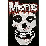 Laminated Misfits (Skull, Splatter) Music Poster Print 24 x 36in
