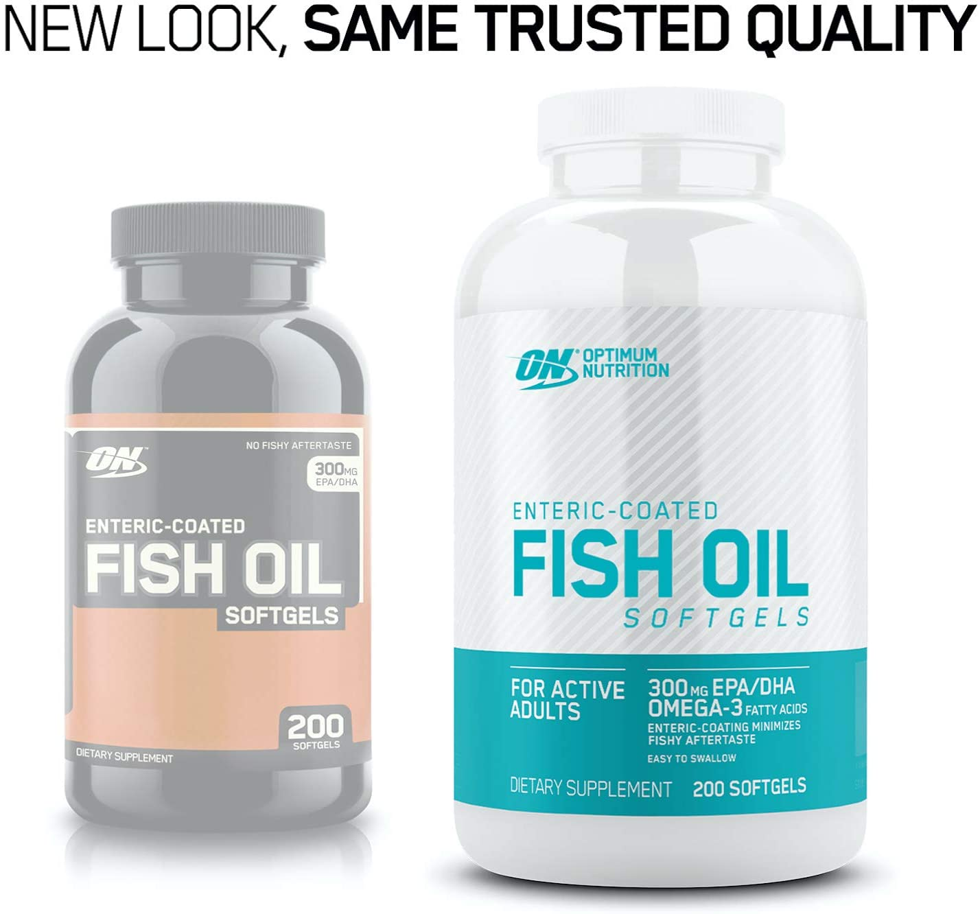 Amazon.com: Optimum Nutrition Omega 3 Fish Oil, 300MG, Brain Support Supplement: Health & Personal Care