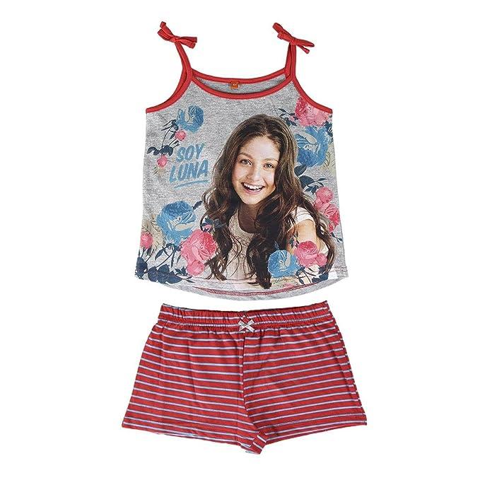 Soy Luna - Conjunto Pijama - para niña - 2200001973 [Grigio/Rosso - 12 anni - 152 cm]: Amazon.es: Ropa y accesorios