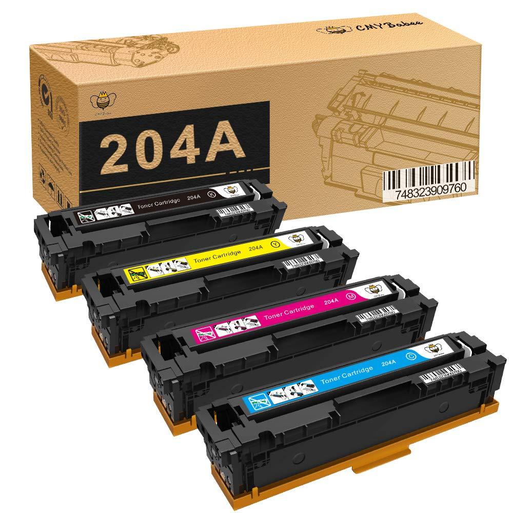 Toner Alternativo ( X4 ) 4 Colores 204A CF510A CF511A CF512A CF513A MFP M180n M180nw M181 M181fw M154a M154nw